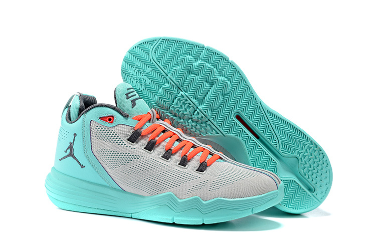 Jordans CP3 9 Blue Grey Basketball Shoes For Sale