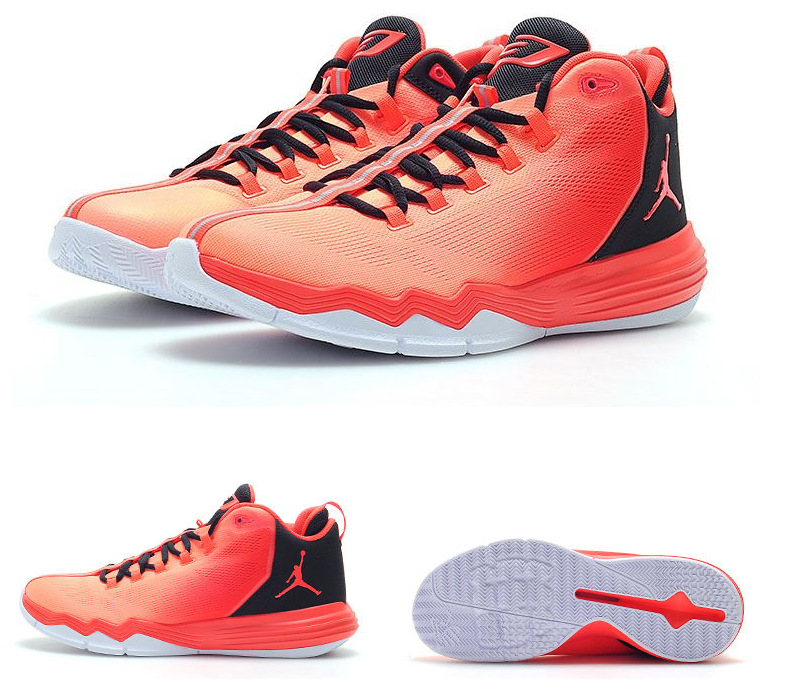 Jordans CP3 9 Bold Red Basketball Shoes For Sale