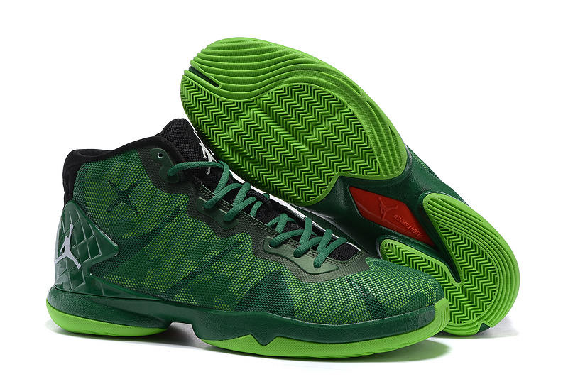 Jordans Super Fly 4 Green camouflage Shoes For Sale
