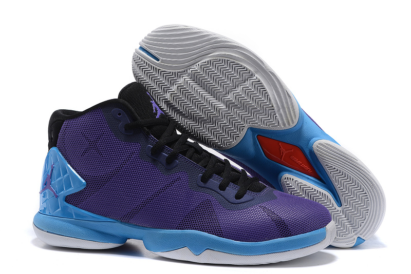 Jordans Super Fly 4 Griffin Purple Moon Shoes For Sale