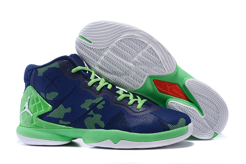 Jordans Super Fly 4 Griffin seahawks Shoes For Sale