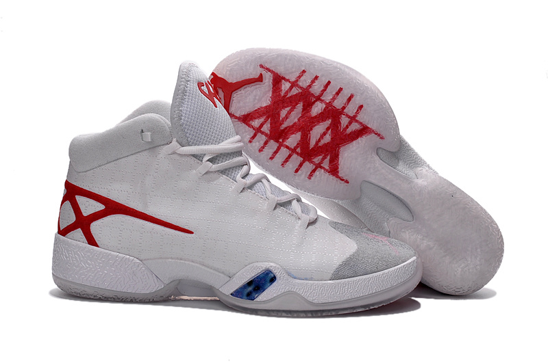 Jordans Westbrook White Chinese Red Shoes For Sale