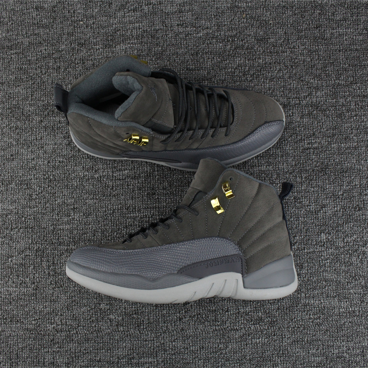 Jordans 12 Cool Grey Shoes