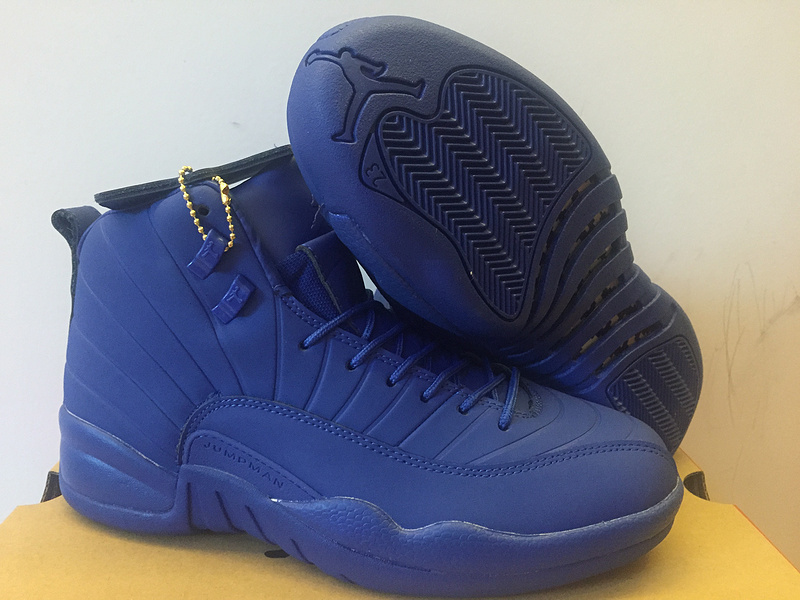 Jordans 12 Jade Blue Basketabll Shoes