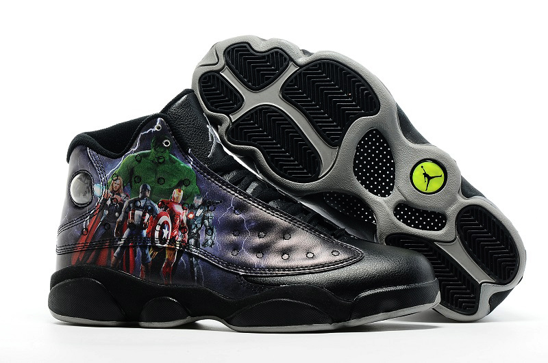 Jordans 13 The Avengers Basketball Shoes