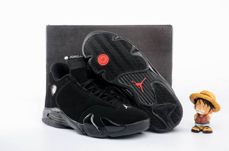 Jordans 14 All Black Basktball Shoes