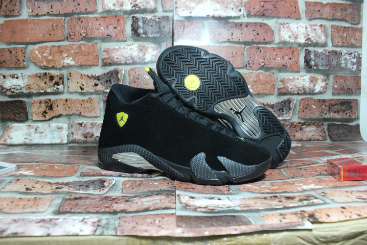 Jordans 14 Retro OG Black Ferrari Shoes