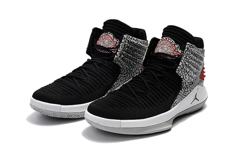Jordans 32 Black Cracker Shoes