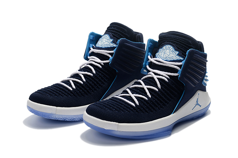 Jordans 32 Dark Blue Shoes