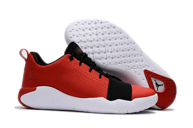 Jordans Breakthrough Version Red Black Shoes
