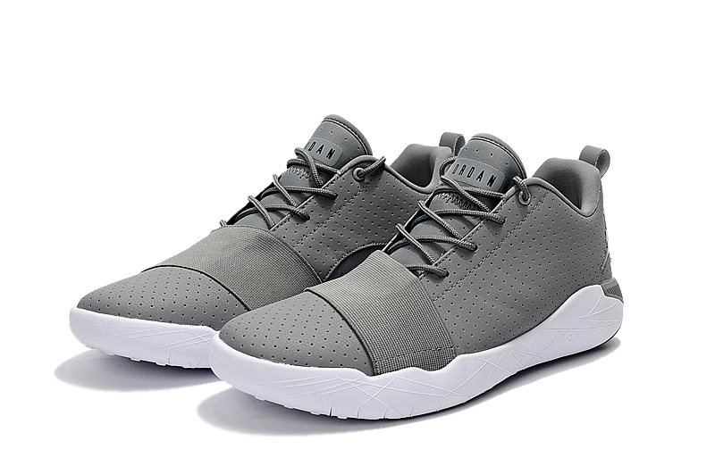Jordans Crossover Edition Grey White Shoes