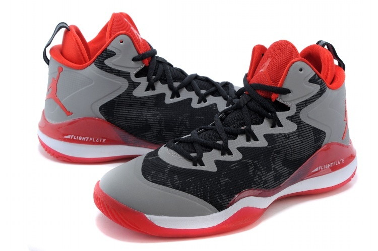 Jordans Griffin 3 Black Grey Red Sneaker