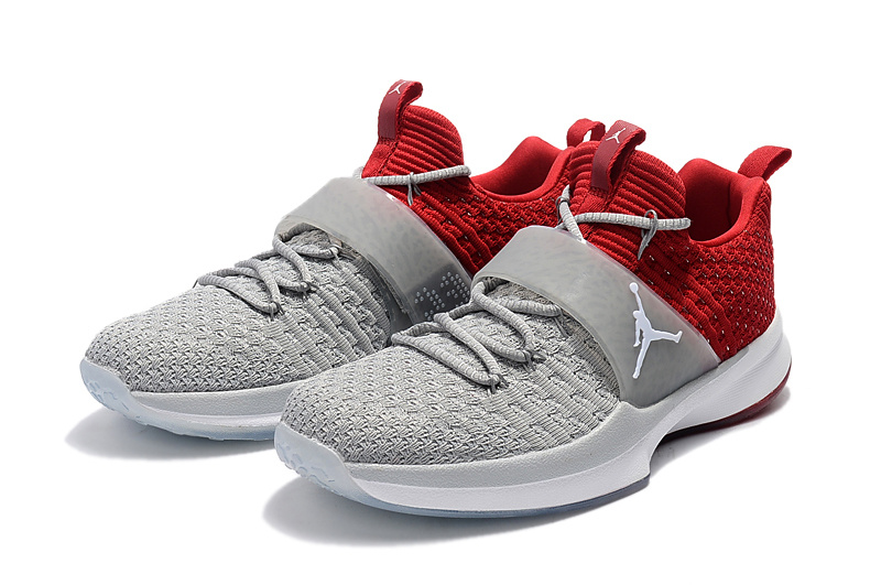 Jordans Trainning 2 Grey Red Shoes