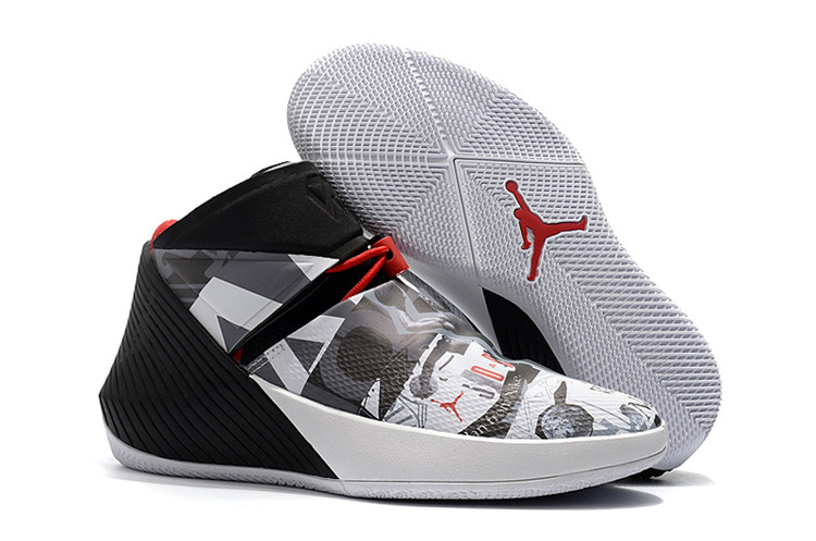 2018 Jordans Why Not Zero Westbrook White Black Red Shoes For Sale