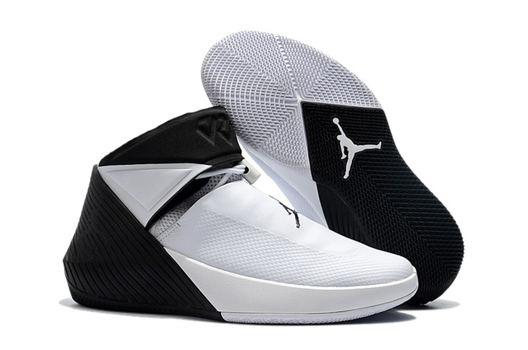 2018 Jordans Why Not Zero Westbrook White Black Shoes For Sale