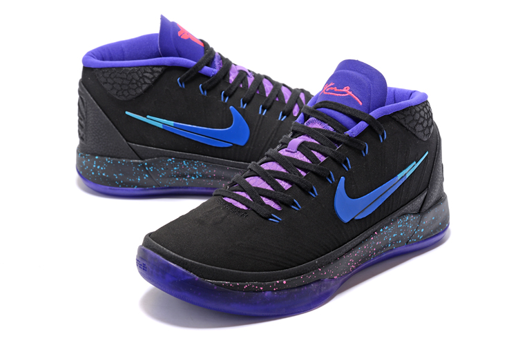 Kobe AD Mid Black Cool Colorful Shoes