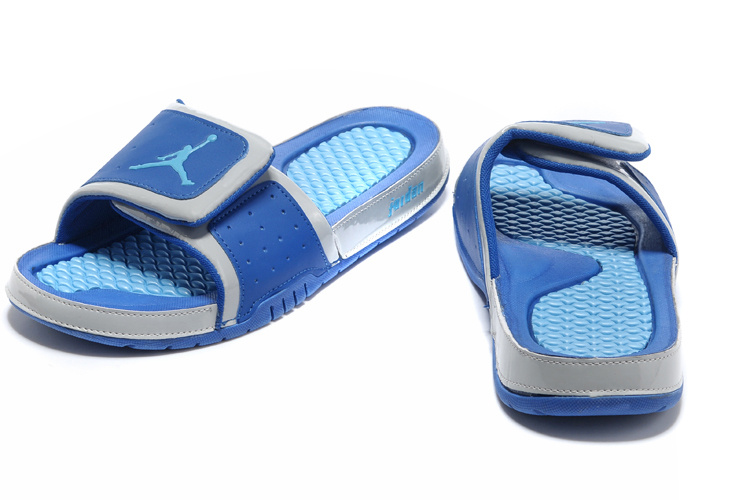 Latest 2013 Jordan Hydro 2 Retro Blue Slipper
