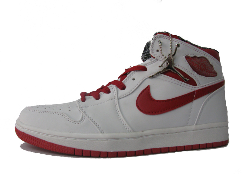 Latest Air Jordans Classic 1 White Red