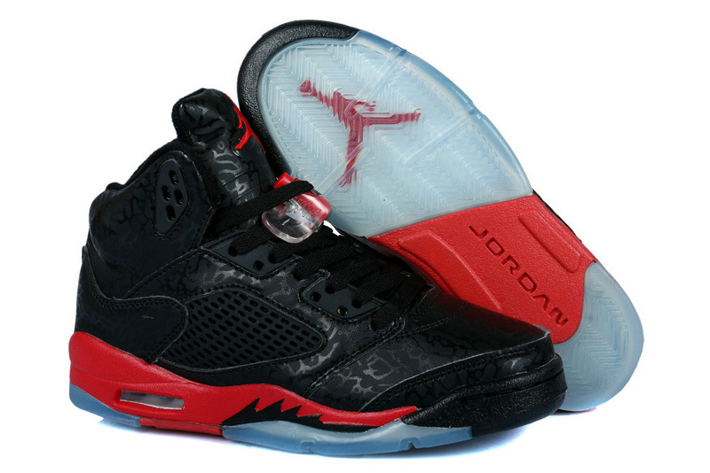 Latest Jordans 3LAB5 Classic lack Red For Women