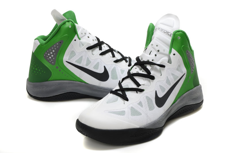 Latest Nike Blake Griffin 2 Classic White Black Green Shoes
