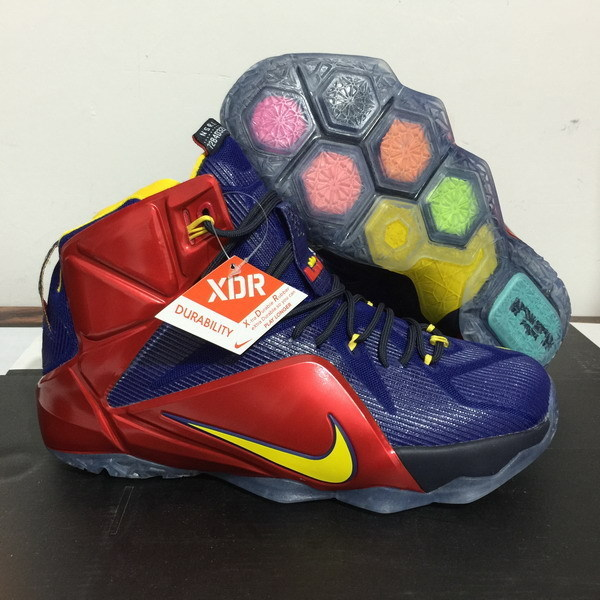 c572d0b0cef ... coupon code for lebron james 12 nike blue red orange basketball shoes  0db90 c9fab