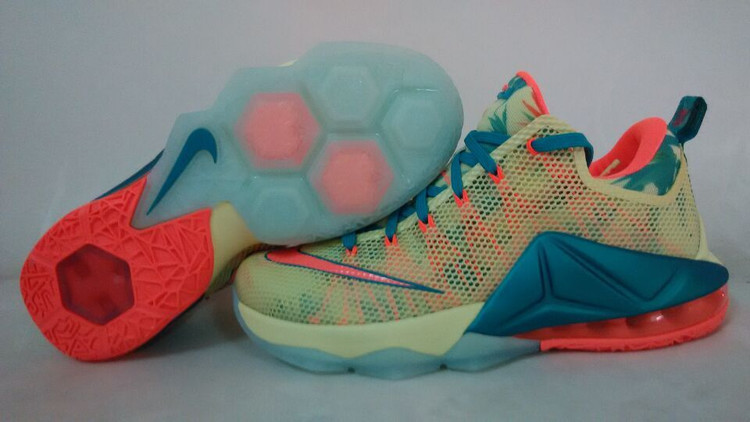 Lebron James 12 Nike Low South Beach Basketball Shoes