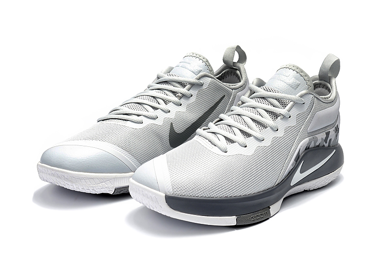 Lebron Wintness 2 Colorful Grey Shoes