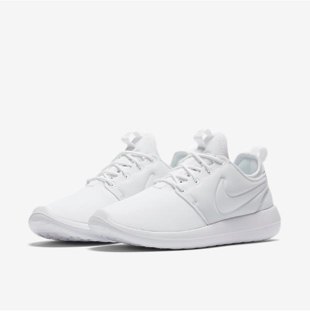 Lovers Nike Roshe Two All White Shoes