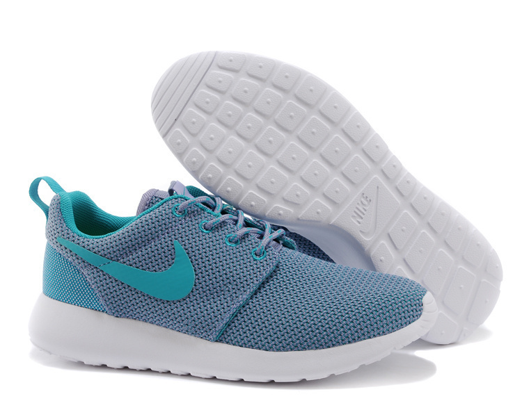 Lovers Nike Roshe Two Blue Shoes