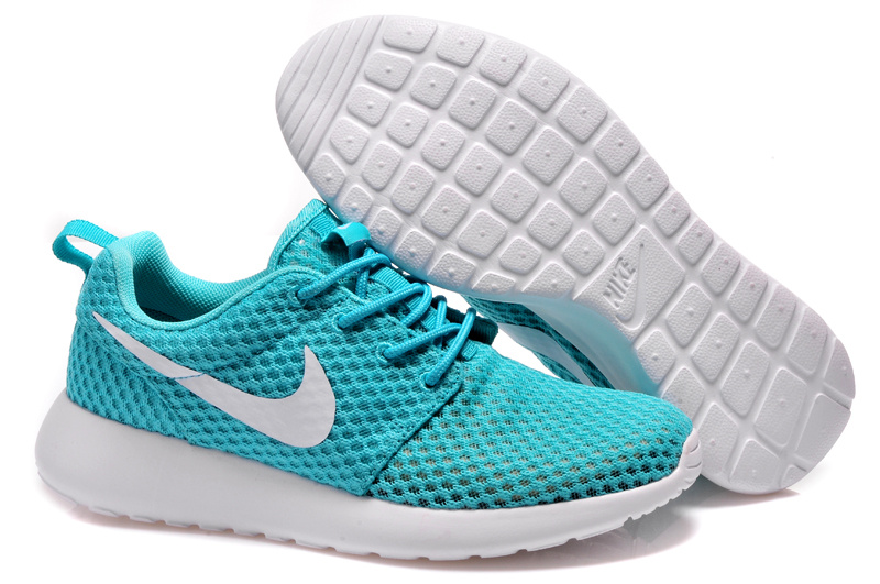 Lovers Nike Roshe Two Jade Blue SHoes