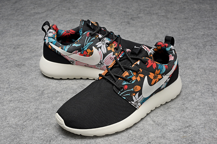 Lovers Nike Roshe Two Mesh Olympic Black Colors Shoes_