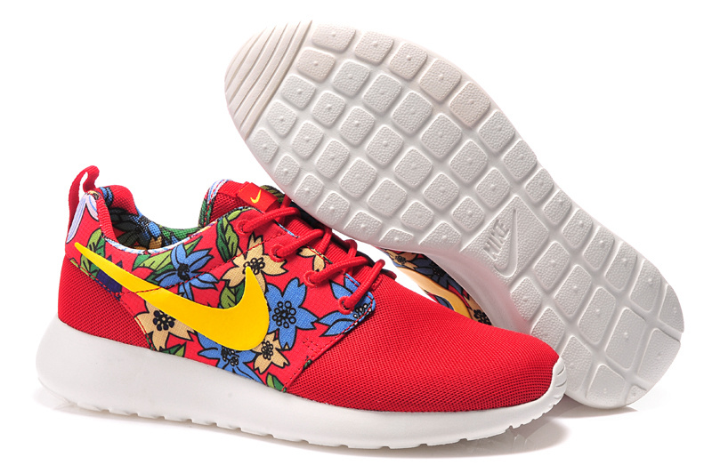 Lovers Nike Roshe Two Mesh Red Colors Olympic Shoes
