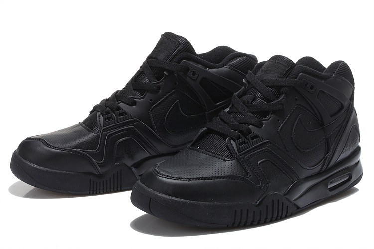 Nike Airtech Chaiienge II All Black Basketball Shoes For Sale