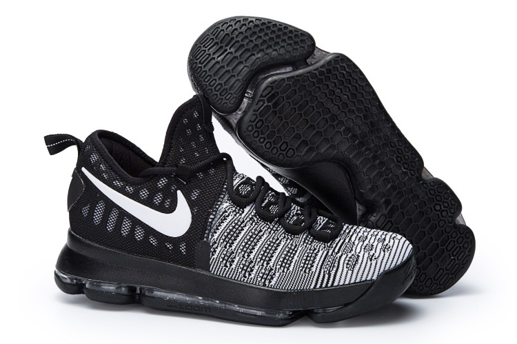 New KD 9 White Black Oreo Basketball Shoes For Sale