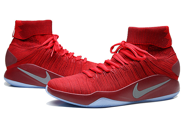 New Nike Hyperdunk 2016 Red Wine Red Olympic Basketabll Shoes