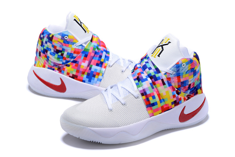 New Nike Kyrie 2 Rainbow Model Basketball Shoes