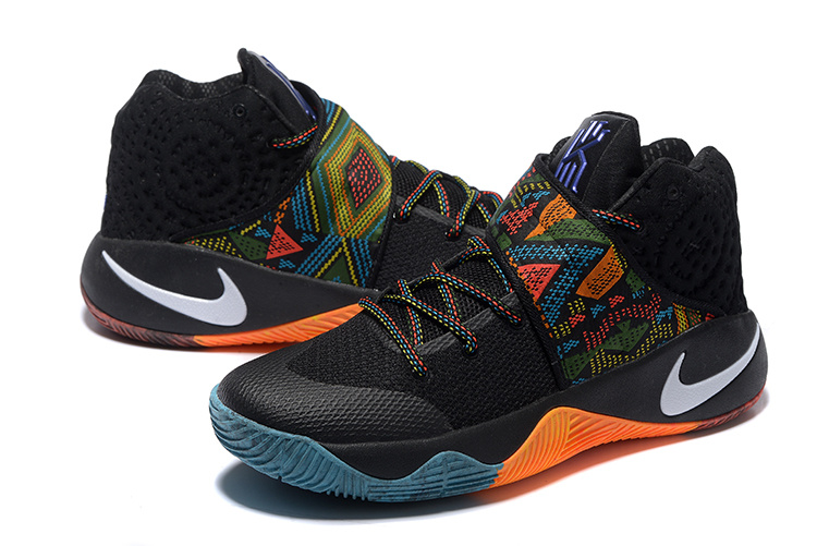New Nike Kyrie 2 The Black Month Basketball Shoes