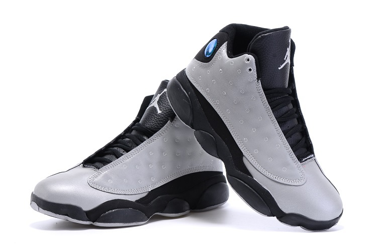 New Jordans 13 Retro Grey Black Shoes
