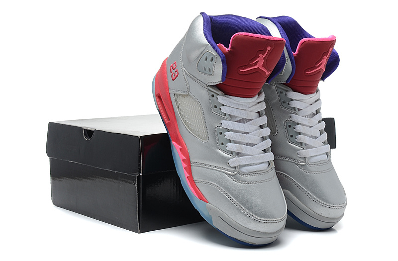 low priced 5208e 9b81d ... Beans Silver Flint Grey,jordans shoes for sale,glamorous air jordan  retro 5 silver mint green ...