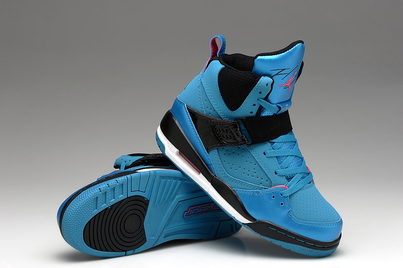 New Jordans Flight 4.5 Blue Black Shoes