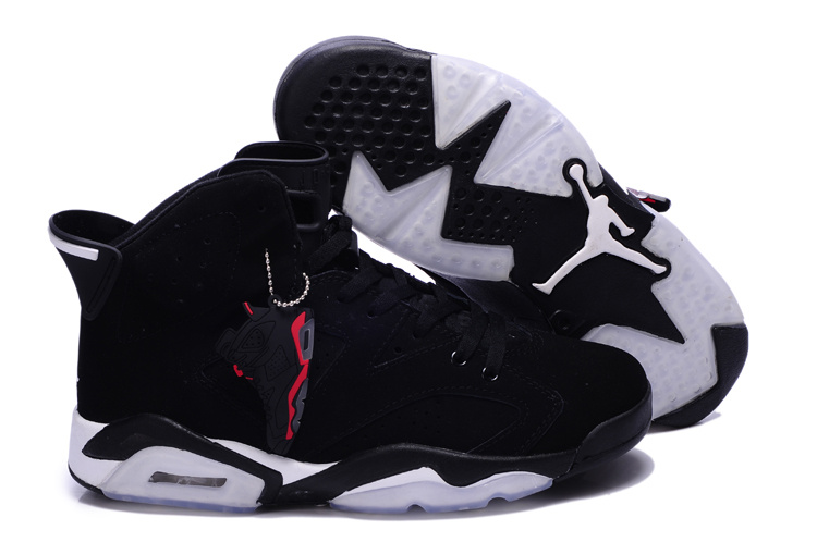 Authentic New Jordan 6 Retro Black White Shoes For Sale