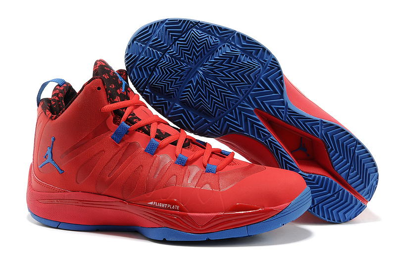 New Jordan Blake Griffin 2 Original Red Blue Shoes