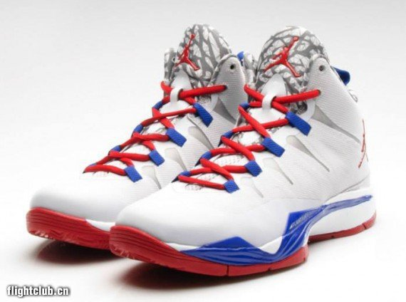 New Jordan Blake Griffin 2 Original White Red Blue Shoes