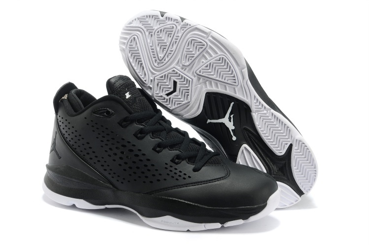 New Jordan CP3 7 Classic Black White Basketball Shoes