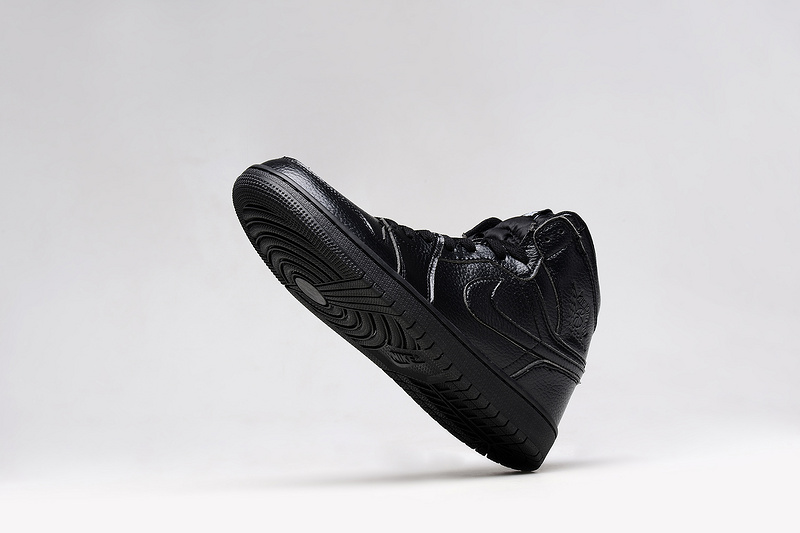New Jordans 1 Retro All Black Original Shoes