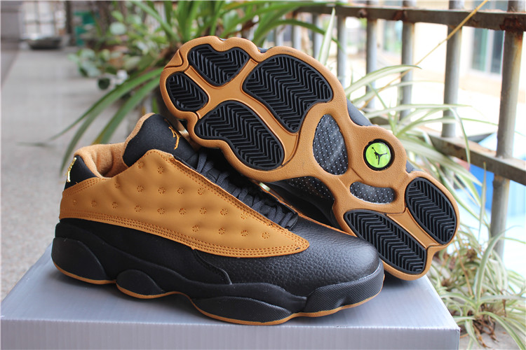 New Jordans 13 Low Brown Black Shoes