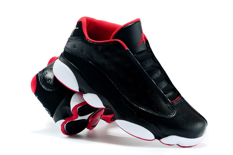 New Jordans 13 Retro Low All Star Black Red White Shoes