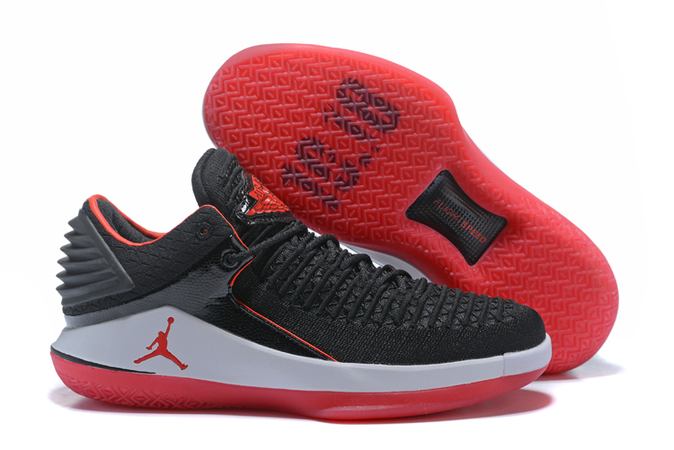 2018 Jordans 32 Garotage Black Red Shoes For Sale