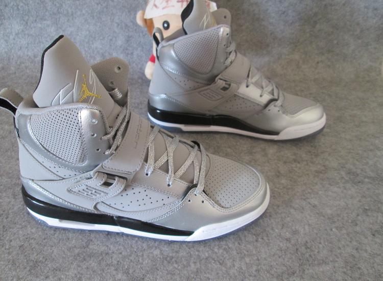 New Jordans Flight 4.5 Dream Silver For Women Seanker