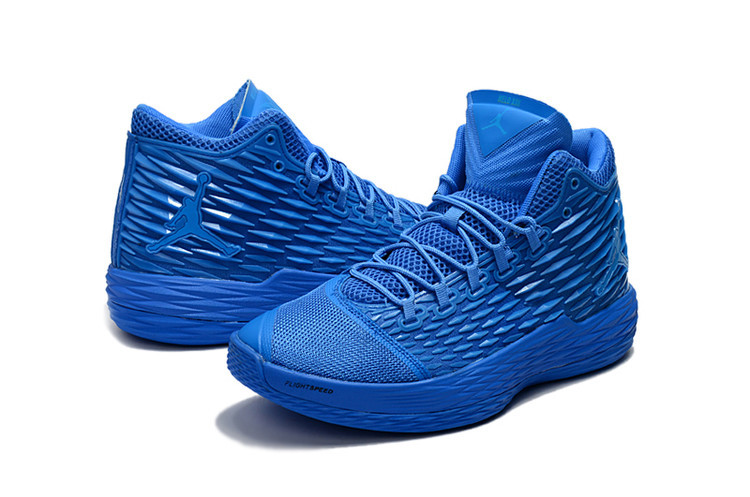 New Jordans Melo All Blue Shoes